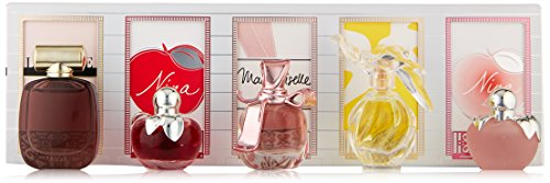 Nina Ricci Femme Miniaturen-Koffer Geschenkset 5 x 4ml - Ricci L'Extase EDP + Nina EDT + Mademoisell