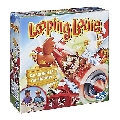 Kinder Hasbro Looping Louie Edition 2015 Kinderspiele Action Party Spiel NEU