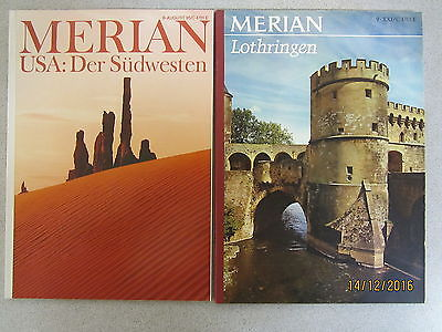 76 Bücher Hefte Merianhefte Merian Verlag Reiseführer Reiseberichte