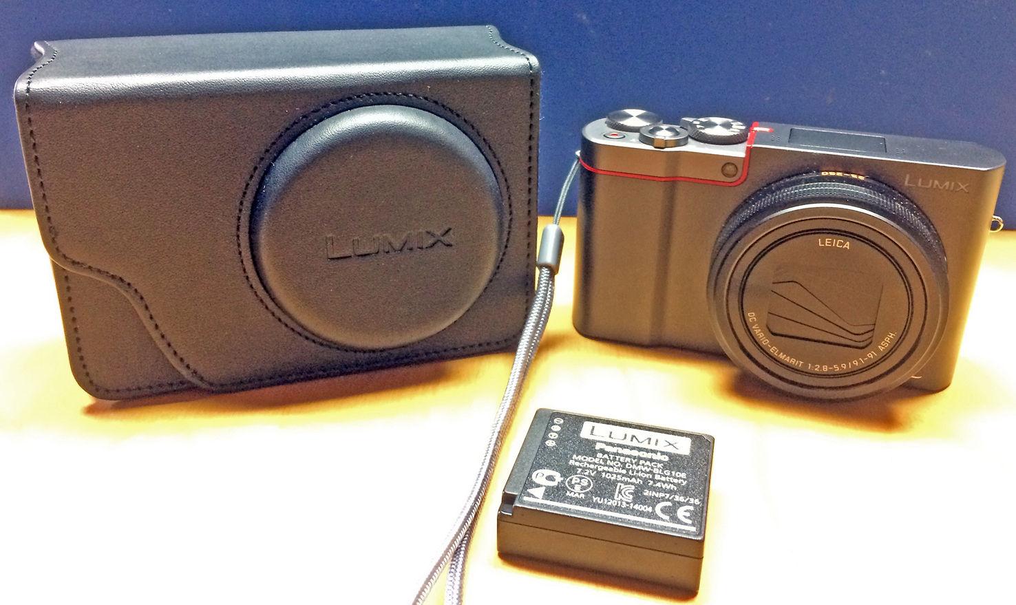 Panasonic Lumix DMC-TZ101 silber B-Ware vom Fachhändler TZ 101 neuwertig