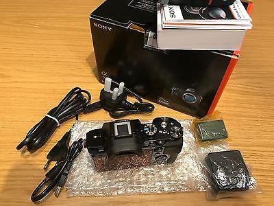 Sony Alpha ILCE-7R 36.4 MP Digitalkamera - Schwarz (Nur Gehäuse) Body