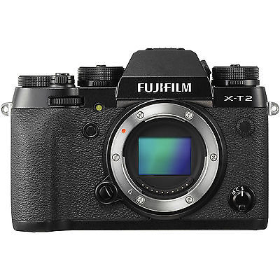 NEU Fujifilm X-T2 Systemkameras Gehäuse - Schwarz