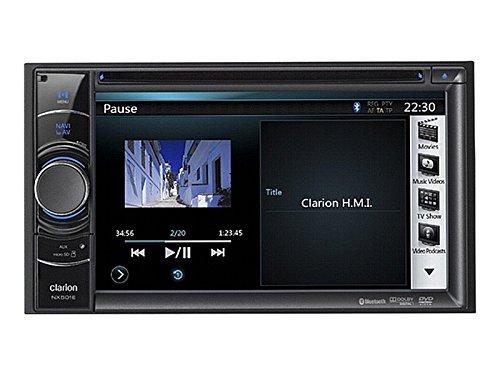 Clarion Navigation Auto Radio 2 DIN DVD USB mit Bluetooth passend für Suzuki Grand Vitara JT ab 09/2005 incl Einbauset