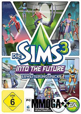 Die Sims 3 Into the Future Key EA/ORIGIN Download Code [PC] [DE] [NEU] - Add-on