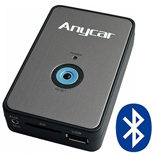 USB SD AUX MP3 Adapter + Bluetooth Freisprechanlage für Mazda 323 (MPV) ab 10/02, 626, Demio ab 01/00, Premacy ab 10/01, 3 BK bis 12/08, 5 bis 06/08, 6 GG/GY/GH bis 03/10, RX8 (Firmware ab 9.55, außer 9.81, 10.01), MX-5 NB/NC ab 01 bis 10/08