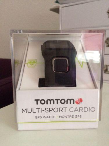 TomTom Multi-Sport Cardio Laufuhr Sportuhr neuwertig inkl. Zubehör