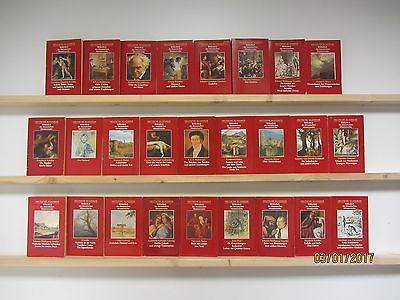 Bibliothek der literarischen Meisterwerke Deutsche Klassiker 26 Bücher