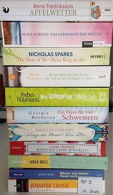 Bücherpaket 11  Frauenromane Liebesromane Taschenbücher Buchpaket  Herzklopfen