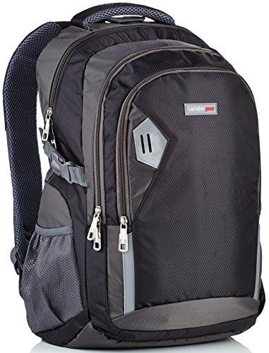 d62ec66b7fc2 Rucksack für Herren und Damen von Camden Gear. Schulrucksack -  Laptoprucksack für die Schule - Laptop - Wandern. Wasserdicht, Top mit  mehreren Fächern.