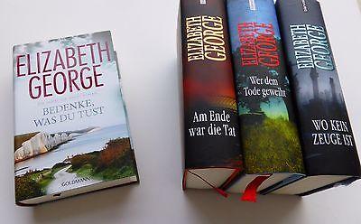 Bedenke, was du tust und 3 weiter Bände von Elizabeth George