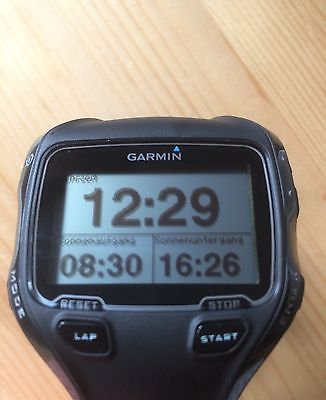 Garmin Forerunner 910xt, Laufuhr, GPS, Herzfrequenzmessung, Puls - TOP Zustand!