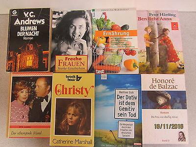 132 Bücher Taschenbücher verschiedene Verlage