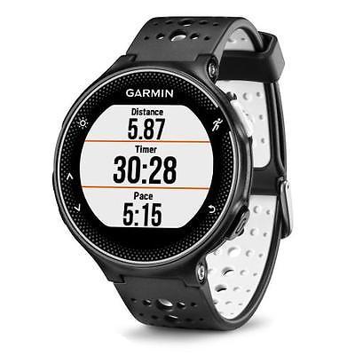 Garmin FORERUNNER® 230 GPS Lauf-Uhr schwarz/weiß (Einzelgerät)