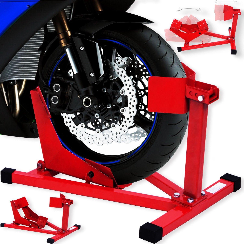 Masko® Motorradständer Montageständer Motorrad Motorradwippe Transportständer