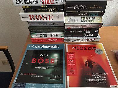 Bücher Paket superneue Thriller Krimi - McFadyen, Beckett gebunden