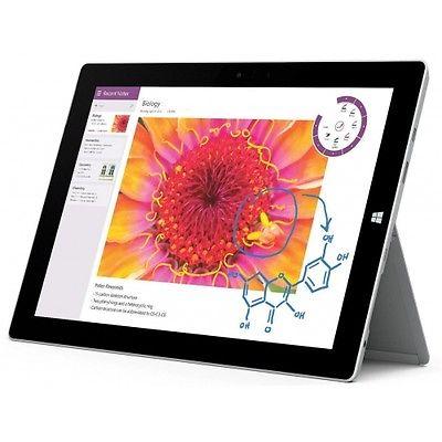 Microsoft Surface 3 32GB WiFi black Windows Tablet PC ohne Vertrag Quad WOW!