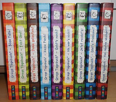Gregs Tagebuch Reihe - Bänder 1-9