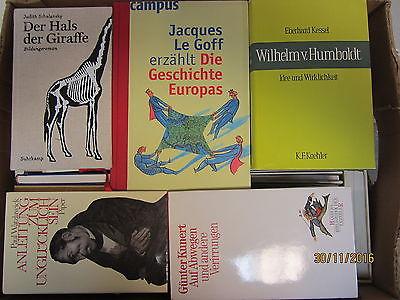 56 Bücher Hardcover Romane Sachbücher verschiedene Themen