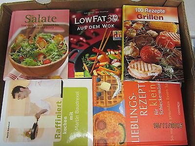 56  Bücher Kochbücher nationale und internationale Küche
