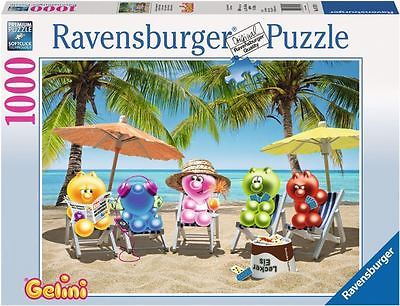RAVENSBURGER*PUZZLE*1000 TEILE*GELINI'S IM SOMMERURLAUB*NEU+OVP
