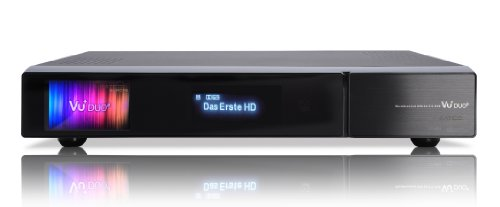 VU+ Duo² 1x DVB-S2 Dual Tuner 500 GB HDD Twin Linux Receiver Full HD 1080p
