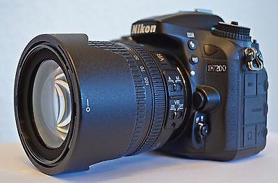 Nikon D D7200 24.2 MP SLR-Digitalkamera - Schwarz (Kit m/ AF-S DX 18-105mm...