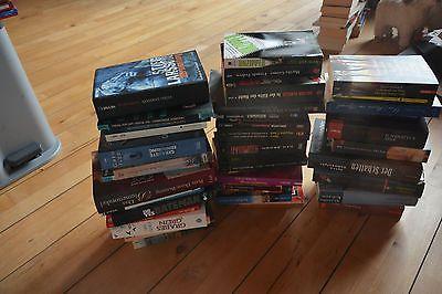 39x Krimi Thriller Romane Bücher