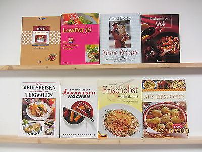 27 Bücher Kochbücher nationale und internationale Küche  großformatig