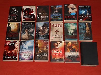 Top Bücherpaket, Vampire,Werwölfe,Gestaltwandler,18 Stück, Fantasy-Paket