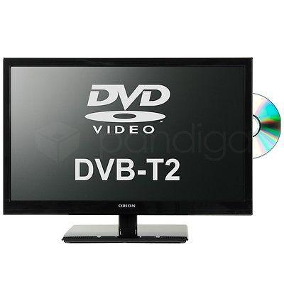 ORION 22 Zoll LED-TV CLB22B270DS schwarz DVB-T2/-T/-C/S2, DVD-Player integriert