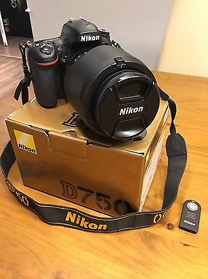 Nikon D750 - Body Vollformat DSLR