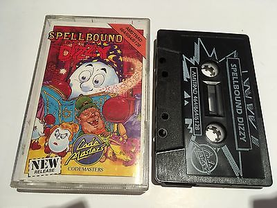 Spellbound Dizzy for Amstrad CPC 464 Cassette by Codemasters