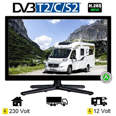Reflexion LED-19 LED Fernseher TV 18,5 Zoll 47cm DVB-S2 /C/T2 USB VGA 12/230Volt