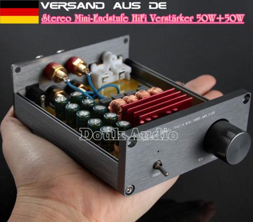 100W Mini-Endstufe Hi-Fi Leistungsverstärker Digital Power Amplifier Stereo Amp
