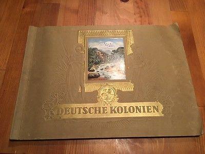 Sticker/Aufkleberalbum: Deutsche Kolonien