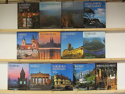 13 Bücher Bildbände deutsche Bundesländer Edition die deutschen Länder