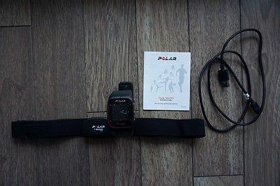 Polar M400 HR mit Brustgurt H7, schwarz, Trainingscomputer, Laufuhr, Pulsuhr