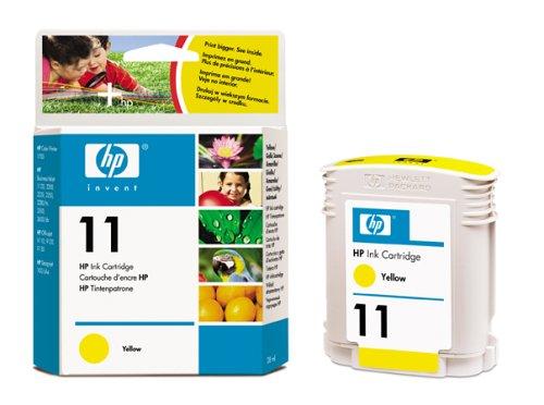 HP 11 Gelb Original Druckerpatrone für HP Officejet Pro, HP Business Inkjet, HP Designjet