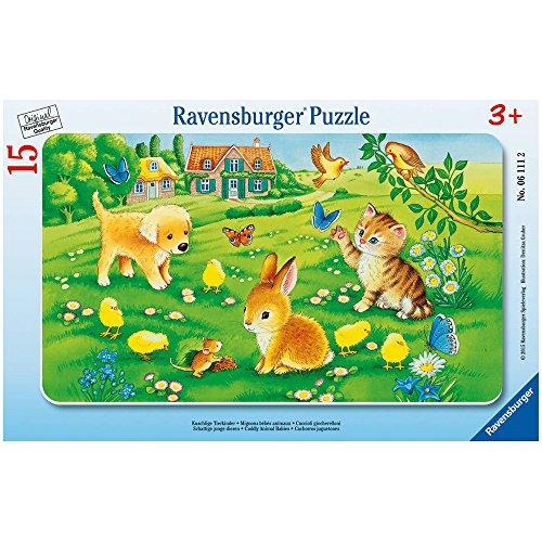 Ravensburger 06111 - Kuschlige Tierkinder