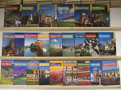 Ausflugsparadies Deutschland 24 Bücher Bildbände deutsche Landschaften