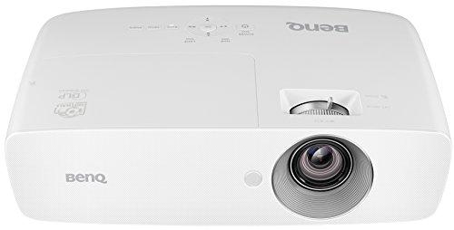 BenQ TH683 Full HD 3D DLP-Projektor (144Hz Triple Flash, 1920x1080 Pixel, Kontrast 10.000:1, 3200 ANSI Lumen, Football Mode, MHL, HDMI, 1,3x Zoom) weiß