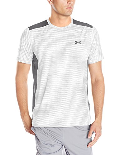 Under Armour Fitness Raid Short Sleeve Tee Herren Fitness - T-Shirts & Tanks, White, L, 1257466