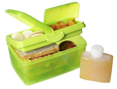 Sistema Lunchbox+Trinkflasche Brotdose Vesperdose Lunch-Box Brotbox Frischebox