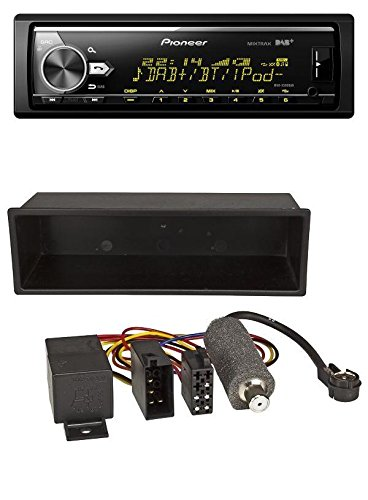 Pioneer MVH-X580DAB MP3 DAB USB Bluetooth AUX Autoradio für VW Polo, T4, Passat, Golf (1998-2004)