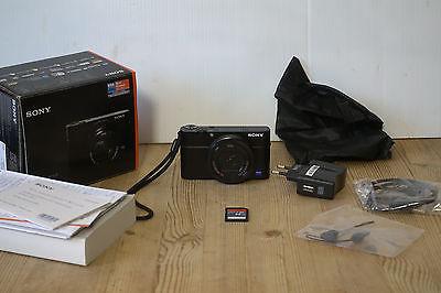 SONY DSC-RX100 III Digitalkamera, 20.1 Megapixel, Full HD, WLAN, Schwarz