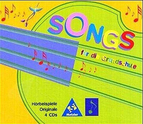 Songs für die Grundschule: 4 CDs mit Originalversionen