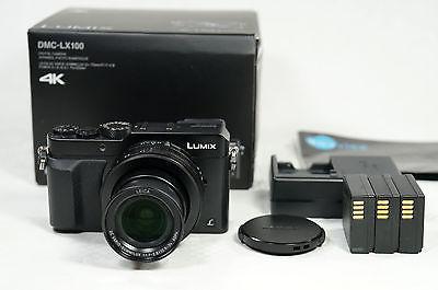 Panasonic Lumix DMC-LX100 schwarz, hervorragender Zustand
