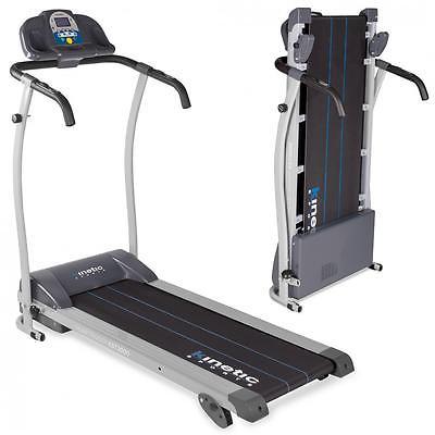 Profi Laufband Handpulssensor LCD Display Heimtrainer Fitnessgerät 1100 W