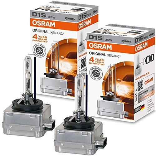 2x OSRAM XENON LAMPEN D1S ORIGINAL LINE 35W/12V PK32d-2 66140 Duo