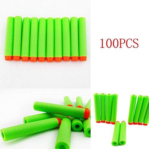 100er Dart Nachfüll-Pack für alle NERF N-Strike Elite Blaster (Green)